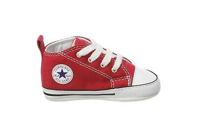 Converse New Borns Cribs Infant Babies Baby First Star Shoes Booties Toddler Boy