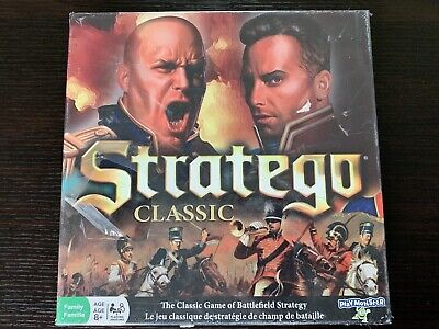 PlayMonster Classic Stratego Board Game - NEW - Battlefield Strategy - Ages 8+