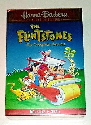 Brand New! The Flintstones: The Complete Series. 20 Disc Dvd Box Set. Ships Free