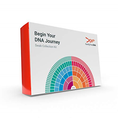 Nib*Family Tree Dna Genetic Ancestry Test Kit*Worlds First Genetic Geneology Kit