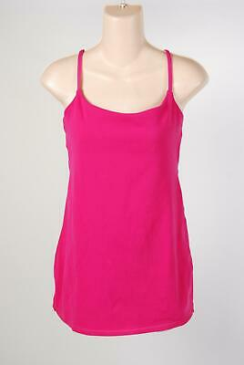 05d05630a38 Lululemon Athletica Hot Pink Tie Rope Yoga Fitness Workout Tank Top Size 8