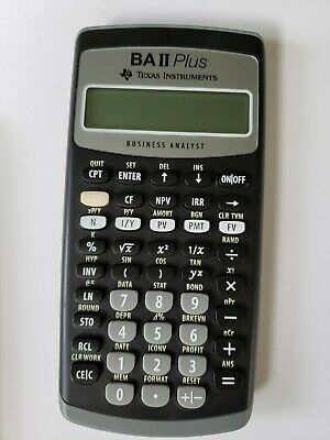 Texas Instruments BA-II Plus Financial Calculator New NO BOX