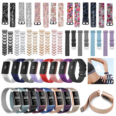 For Fitbit Charge 3 Replacement Watch Strap Bracelet Wrist Band Accessories 2019