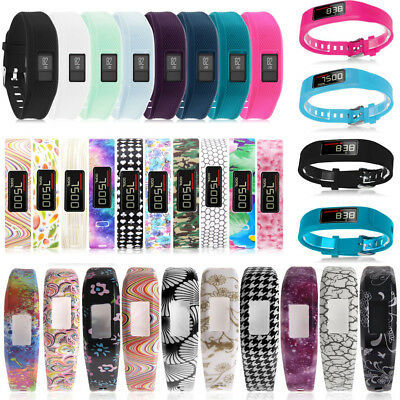 Silicone Replacement Watch Band Wrist Strap for Garmin Vivofit 1/2/3 Tracker