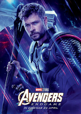 B-21 New Avengers Endgame Thor Marvel Character Movie Comic Poster 20x30 24x36
