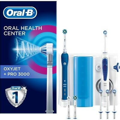 Oral-B Professional Care 3000 Rechargeable Tootbrush + Oxyjet Irrıgator OC20