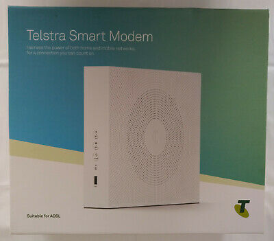 TELSTRA SMART MODEM DJA0230 Wireless NBN FTTN & FTTB and ADSL