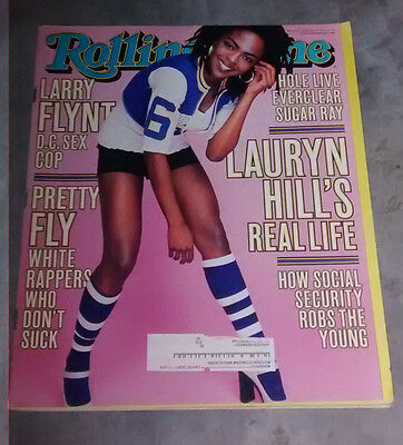 Rolling Stone Issue #806 February 18, 1999 Lauren Hill The Fugees