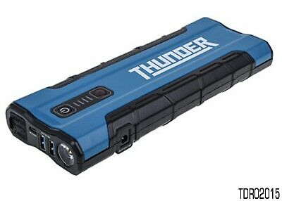 Thunder Lithium Jump Starter / Power Bank 800A Kit With Carry Case Tdr02015