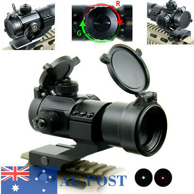 Outdoor Holographic Reflex Red/Green Dot Sight Scope Stinger 4 MOA With Mount AU