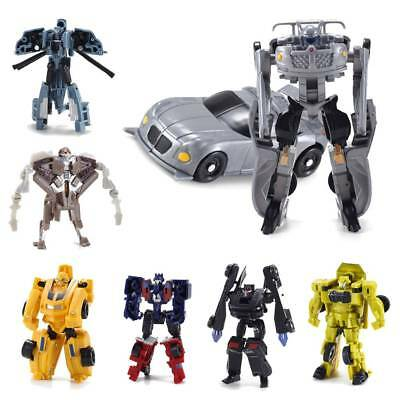 Mini Autobots Transformers 5 Optimus Prime Bumble Bee Kids Action Figure Gifts