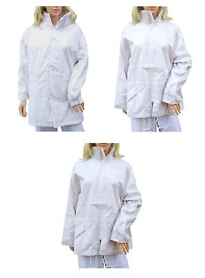 CATHEDRAL Duraproof Ladies Jacket Overskirt Nylon Lined White Waterproof 2019