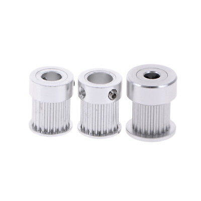 20 teeth GT2 timing pulley for 3D printer bore 5/ 6.35/ 8mm for aluminium gea pD