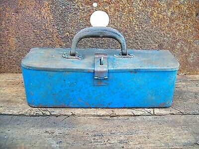 Small Vintage Tractor Tool Box, Hot Rat Rod, Classic Car, VW, Bobber, Lowbrow,