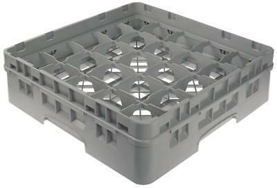 Cambro Glass Rack Width 500mm Fächergrösse 89x89mm 25 Glasses Height 142mm