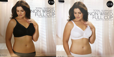 Ex Marks and Spencer Total Support Non Wired Full Cup Bra (B?)