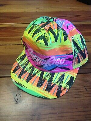 5c7a33ae7e5fed Vintage Cameo Neon Snapback Hat Cap 1980/90s Fresh Prince Jazzy Jeff Hip Hop
