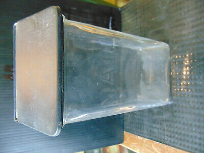 Antique Vintage Holton's Visible Glass Mail Box. Wall Mount. Nice Vintage Piece!