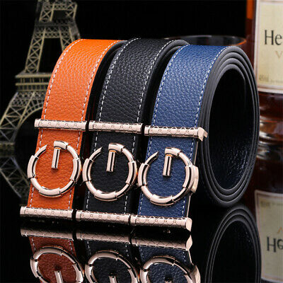 51a1cca4f1d63 High Quality Genuine Leather Fashion G Style Belt Women Men Luxury Waist  Strap !