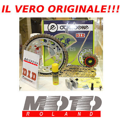 Kit Trasmissione Catena Originale Did Honda Xl 650 V Transalp '00-'07 Silent New