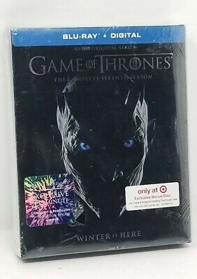 GAME OF THRONES ~ COMPLETE SEVENTH SEASON ~ Blu-Ray + Digital *New *Sealed