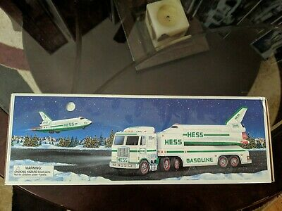1999 Hess Toy Truck and Space Shuttle ~ new in box