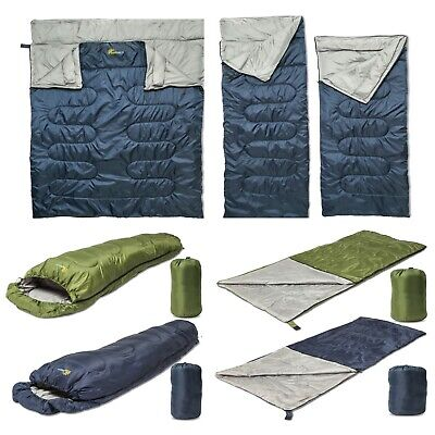 SUNMER Waterproof Sleeping Bag 3/4 Season 170T/190T/210T 150/200/300/400gsm
