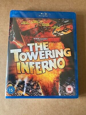 The Towering Inferno Blu-ray (1974) NEW & SEALED - Steve McQueen Paul Newman