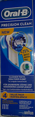 BRAUN ORAL-B PRECISION ELECTRIC TOOTHBRUSH REPLACEMENT BRUSH HEADS color ring