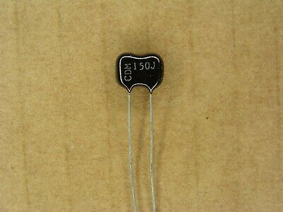 Lot of 20 Silver Mica Capacitor Radial Lead 39pf 300v