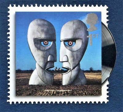 The Division Bell / Pink Floyd on a Stamp. U/M