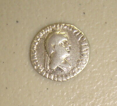 85-65 BC Bactria Indo-Greeks Apollodotus II Ancient Greek Silver Drachm F