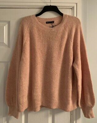 BNWT LADIES M/&S COLLECTION RANGE LONG SLEEVED CAMEL WITH ALPACA JUMPER SIZE 20