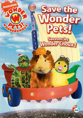 Wonder Pets - Save The Wonder Pets (Bilingue) Nuovo DVD