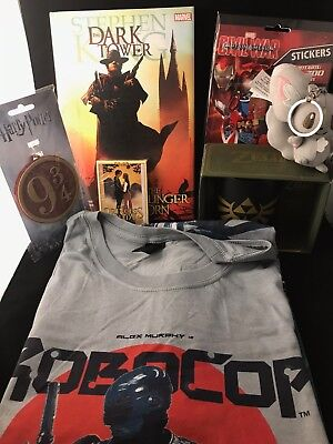 Large Collectables Geek Box Bundle - The Box of Goodies for Geeks Robocop