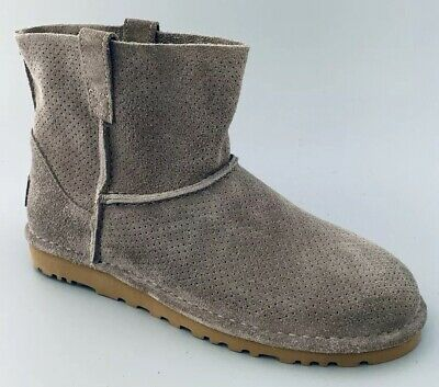 4420ce84eef UGG WOMEN'S CLASSIC Unlined Mini Perforated Boots - Mole Gray ...