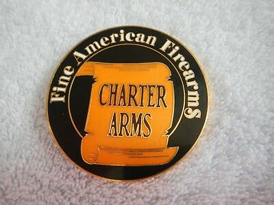 Vintage Belt Buckle - Charter Arms - Fine American Firearms - Revolvers -  New