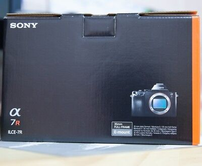 (Body Only) Sony Alpha a7R 36.4MP Digital SLR Camera Genuine +