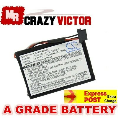 Navman Mitac Magellan T300-3 Replacement Battery for MY55T MY50T S100 C40