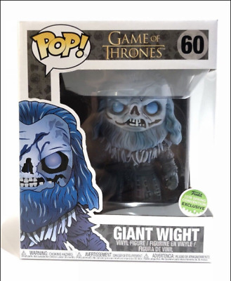 Funko Pop Game of Thrones Giant Wight #60 2018 Spring Convention Exclusive Vinyl