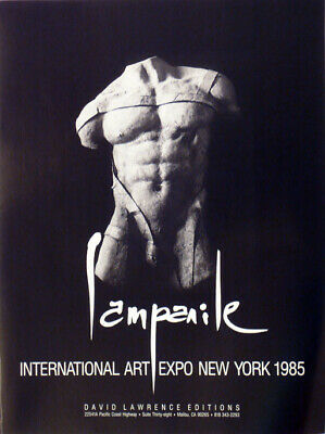 Dario Campanile Poster Gay Interest, Torso Free Shipping-Us, Reduced $25 1985