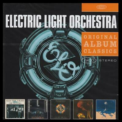 Electric Light Orchestra (5 Cd) Third~Face~New World Record~Discovery Elo *New*