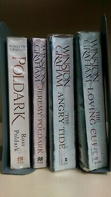Winston Graham: job lot collection of 4 adult fiction books