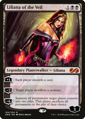 Liliana of the Veil x1 1x Ultimate Masters NM MTG