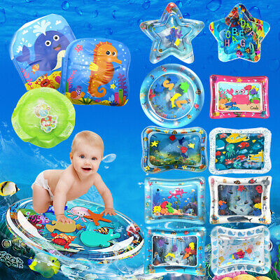 Inflatable Fun Baby Water Play Mat Novelty for Kids Children Infants Tummy Time