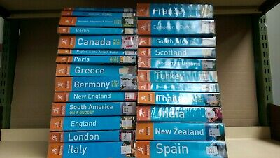 Rough Guide Travel Guides, job lot box of 25 books