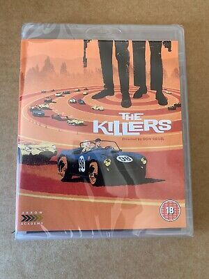The Killers 1964 Blu-Ray New & Sealed Arrow Video - Don Siegel, Lee Marvin Rare!