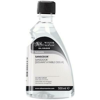 WINSOR AND NEWTON SANSODOR Low Odour Solvent - 500ml