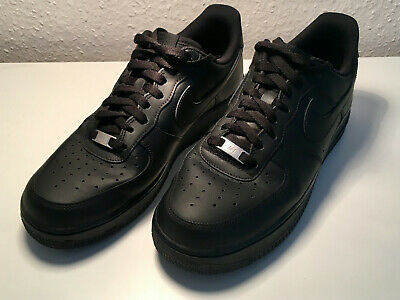 NIKE MEN'S AIR FORCE 1 '07 Black EU 44 US 10
