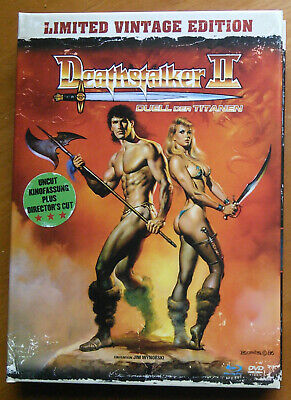 Deathstalker 2  blu-ray – German 'limited vintage edition'